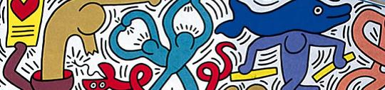 Bandeau Kaith Haring pour visioconférence 28/10/21